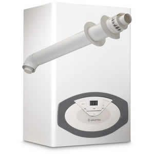 Ariston Clas 24 Conventional Boiler 3300748 (5 Year Warranty) with Horizontal Flue Kit 3318073