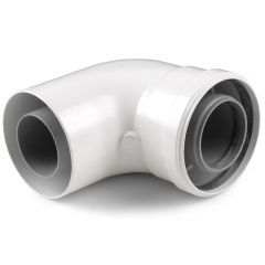 Vaillant Flue 90 Degree Elbow 303910