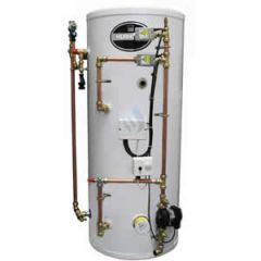 Telford Hurricane 125 Litre Unvented Indirect Pre Plumbed Cylinder