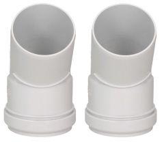 Ariston 45 Degree Plume Kit Bends (Pair) (White) 3318106
