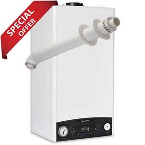 Ariston Clas 24 NET ONE Combi Boiler 3301049 with Horizontal Flue Kit 3318073 - 12 Year Warranty