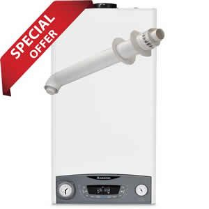 Ariston Clas System ONE 30 System Boiler 3301048 with Horizontal Flue Kit 3318073