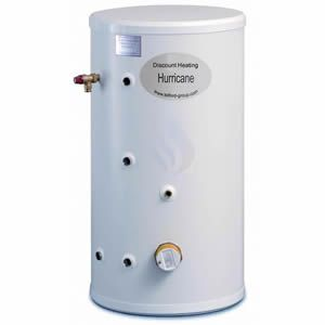 Telford Hurricane 125 Litre Unvented Indirect Cylinder