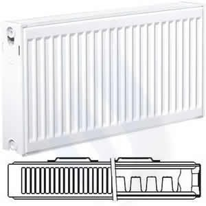 EcoRad 400mm High x 600mm Wide Double P+ Radiator TP406