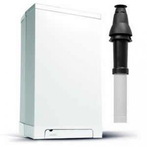 Intergas Rapid 32 Plus Combi Boiler 049947 with Vertical Flue Kit 086838