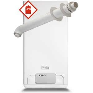 Vokera Mynute 20 VHE Conventional Boiler 20144035 with Horizontal Flue Kit 20132063 ** LPG GAS **