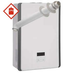 Rinnai 17i Multipoint LPG Gas Water Heater including Horizontal Flue Kit * LPG GAS *