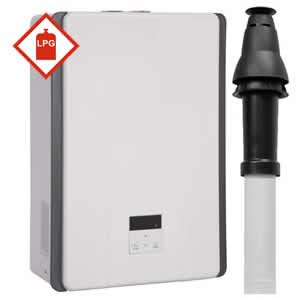 Rinnai 17i Multipoint LPG Gas Water Heater including Vertical Flue Kit * LPG GAS *