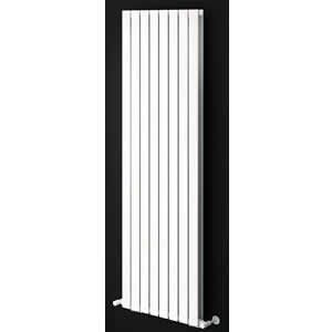 Sherlock Flat Steel White Vertical Double Radiator 1800mm High x 458mm wide