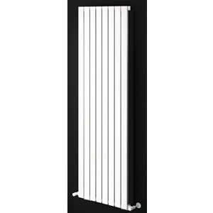 Sherlock Flat Steel White Vertical Single Radiator 1800mm High x 534mm wide