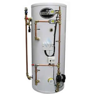 Telford Tempest 125 Litre Unvented Indirect Pre Plumbed Cylinder