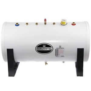 Telford Tempest 200 Litre Unvented Horizontal Indirect Cylinder