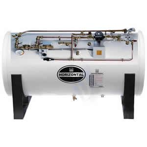 Telford Tempest 125 Litre Unvented Indirect Horizontal Pre Plumbed Cylinder