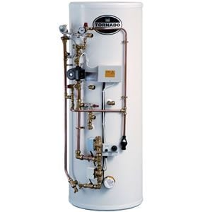 Telford Tornado 3.0 Unvented Indirect Pre Plumbed Cylinder 125 Litre