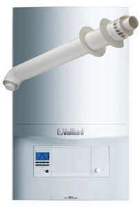 Vaillant Ecotec Pro 28 Combi Boiler 0010021837 with Horizontal Flue Kit 0020219517