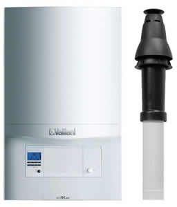 Vaillant Ecotec Pro 28 Combi Boiler 0010021837 with Vertical Flue Kit 0020223472