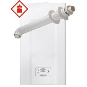 Vokera Vision 40 PLUS Combi Boiler 20174725 with XF Horizontal Flue Kit 20122759 ** LPG GAS **